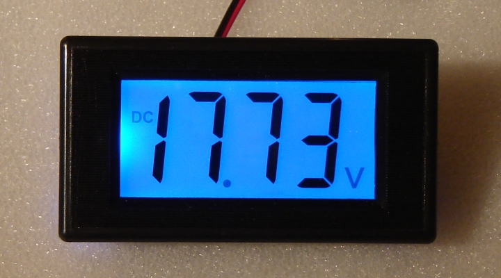 Battery Monitor Panel : Digital voltmeter v dc battery monitor panel meter ebay