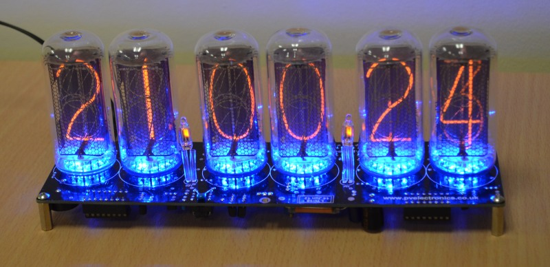 IN-18 Nixie Tube Clock Kit LTC-18