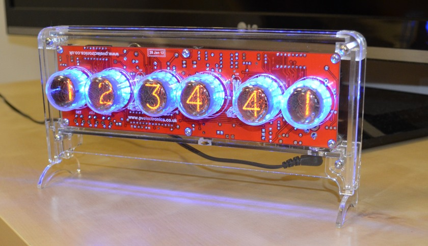 Plexiglass Case for Halo Nixie Clock
