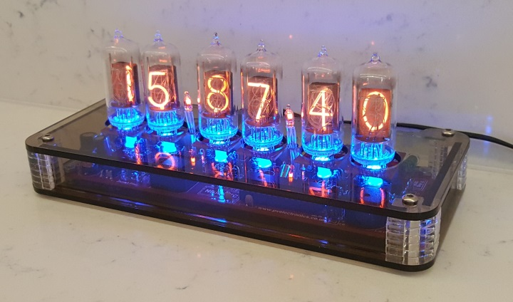 Plexi Case For Nixie QTC Clocks (Smoked)