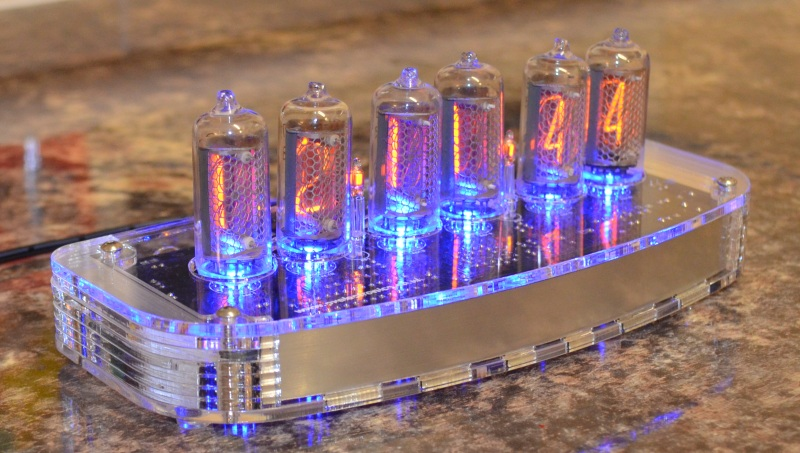 Plexiglass Case For IN-8 and NL840 Nixie Clock