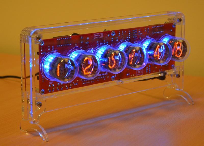 Halo Nixie Clock Kit for IN-4 Tubes [HaloIN4] - £46 95 - PV