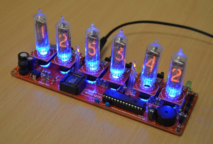 Nixie Clock QTC IN-16 (No Tubes)