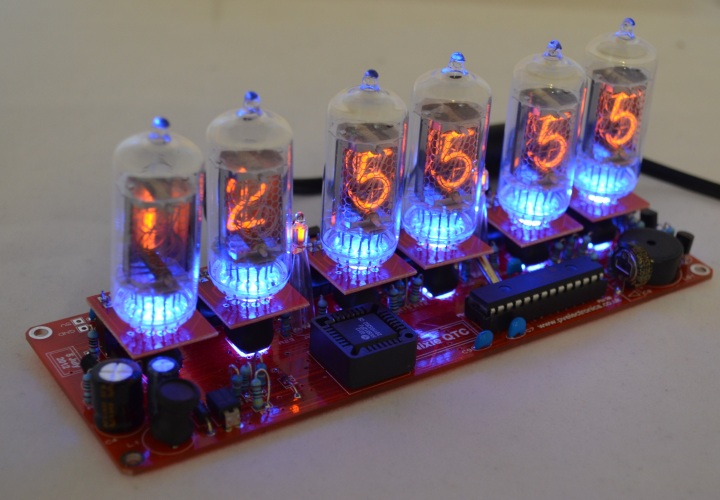 Nixie Clock QTC For Z570M / ZM1082 (No Tubes)