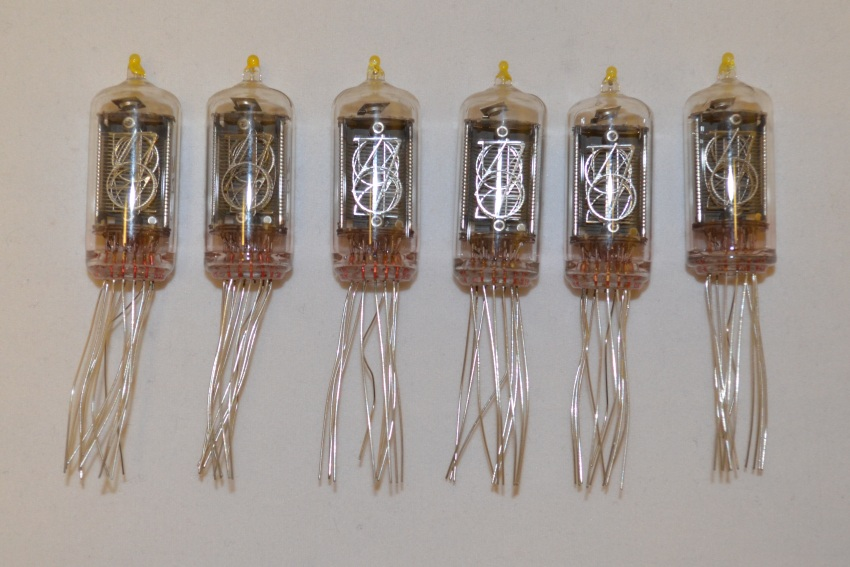 Nixie Clock QTC With ZM1177 Tubes Included LAST KIT!