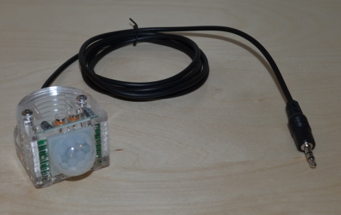 PIR Motion Sensor for Spectrum Nixie Clocks