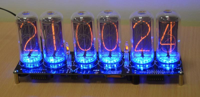 Nixie tube clock kit