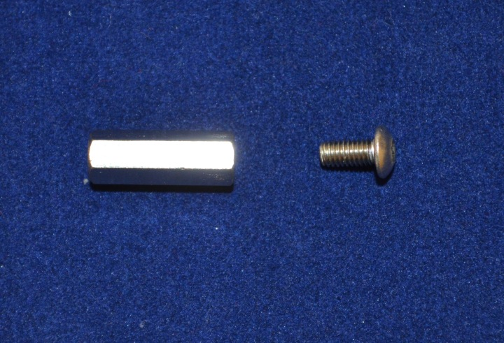 M3 Hex Spacer 15mm with Screw