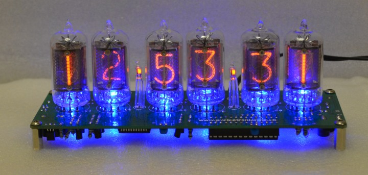 Nixie Clock Kit For Biquinary Tubes (No Tubes)