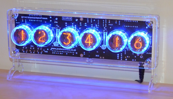 Halo Nixie Clock Kit (No Tubes)