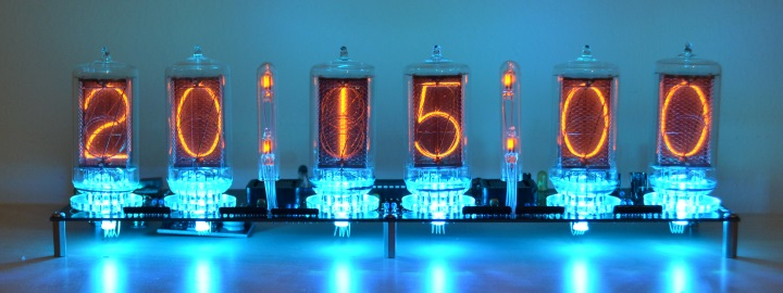 SPECTRUM 1040 Nixie Clock Kit - Click Image to Close