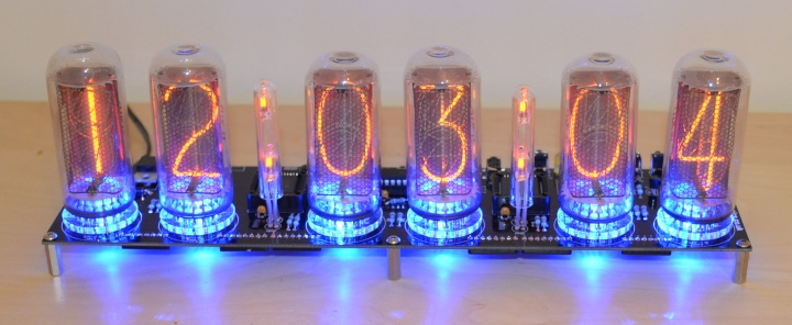 SPECTRUM 18 Nixie Clock Kit