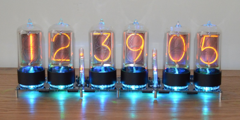 Nixie Tube Clock Kit for Z568M Tubes