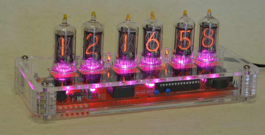 Plexiglass Case For Nixie QTC Clocks