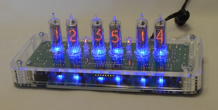 Acrylic Case for IN-16 Clock 'SixNix'