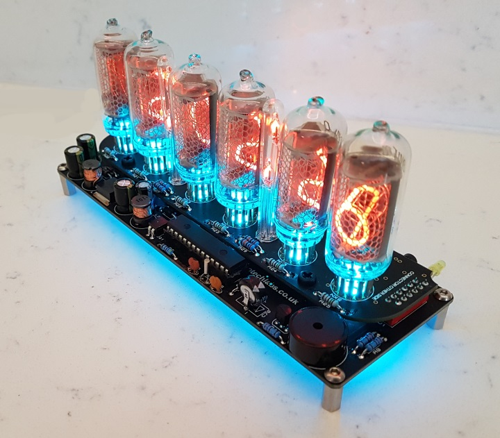 ELITE IN-8 Nixie Clock Kit (No Tubes)