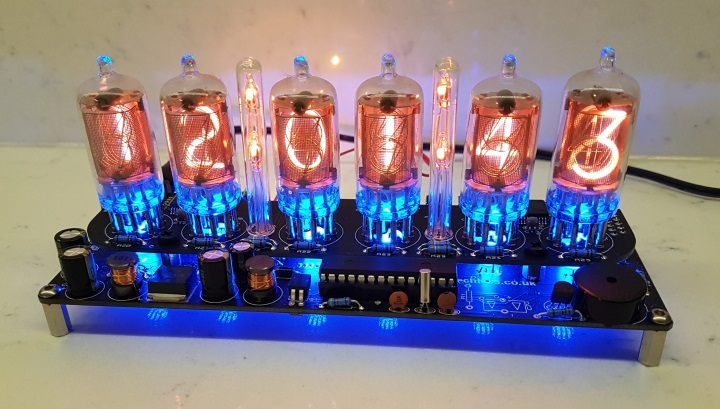 ELITE NL840 Nixie Clock Kit with Tubes