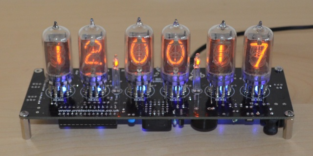NL840 Nixie Clock Kit (No Tubes)