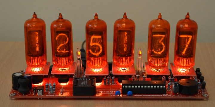 Nixie Clock QTC+ With ZM1210 Tubes LIMITED!!