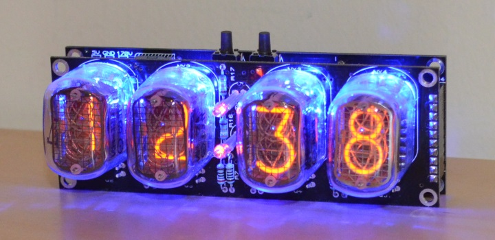 Nixie FunKlock Kit with Tubes