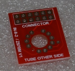 IN-8-2 Cell PCB for QTC Clock - Click Image to Close