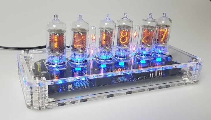Z5700M Nixie Bundle (Plexi Case) with GPS Time Sync